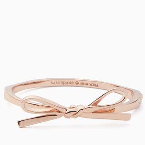NWT Kate Spade Skinny Mini Bow Bangle Bracelet